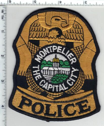 Montpelier Police (Vermont) 1st Issue Shoulder Patch from the 1980