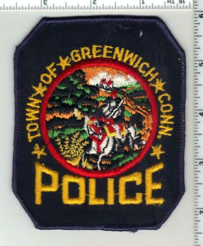 Town of Greenwich Police (Connecticut) 1st Issue Shoulder Patch