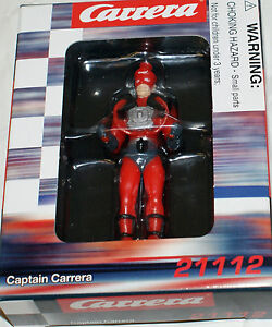 CARRERA Captain Carrera Figure for Digital 1/32 1/24 and analog layout 21112