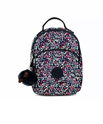 Kipling Alber 3-in-1 Convertible Mini Bag Backpack (Glistening Poppy Blue)🐒