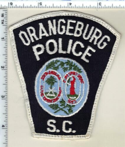 Orangeburg Police (South Carolina) Uniform Take-Off Patch Early 1980