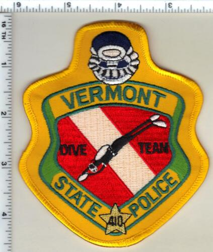 State Police (Vermont) 1st Issue Dive Team Shoulder Patch from the 1980