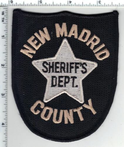 New Madrid Police (Missouri)  Shoulder Patch new from the 1980