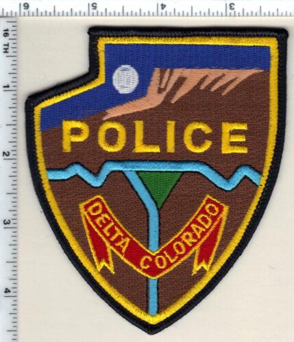 Delta Police (Colorado) Shoulder Patch - new from 1992