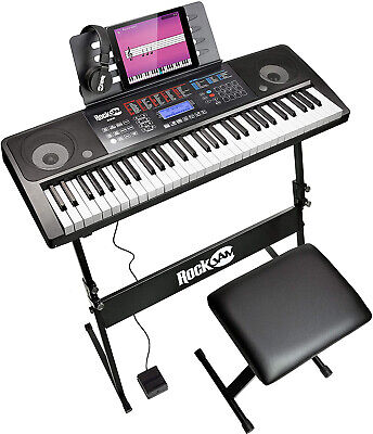 RockJam RJ761-SK Key Electronic Interactive Teaching Piano K