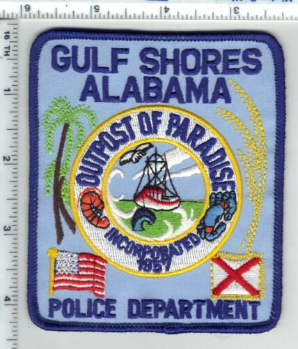 Gulf Shores Police (Alabama) 2nd Issue Shoulder Patch
