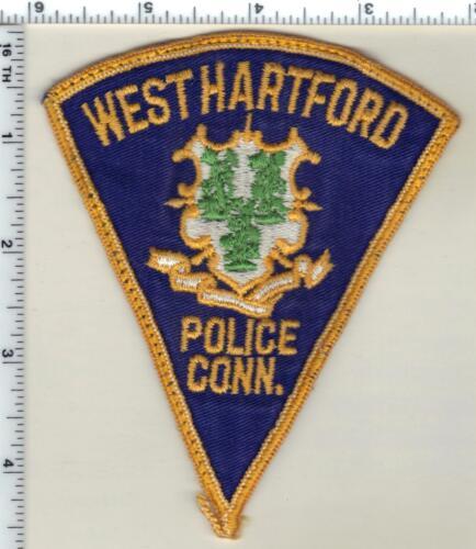 West Hartford Police (Connecticut) Uniform Take-Off Shoulder Patch  early 1980
