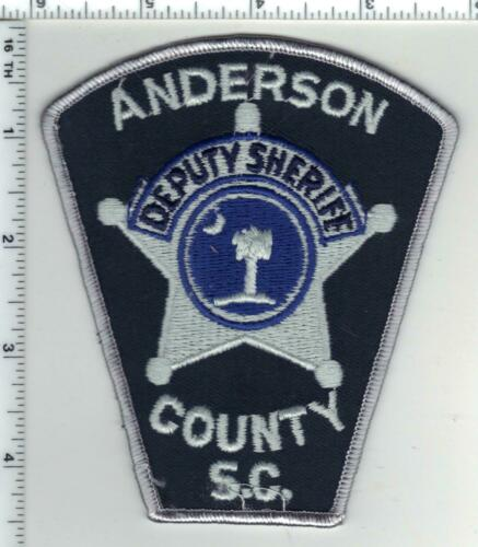 Anderson County Sheriff (South Carolina) 4th Issue Shoulder Patch