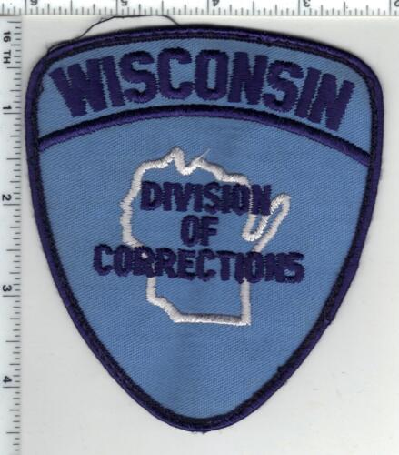 Division of Corrections (Wisconsin) Uniform Take-Off 2nd Issue Shoulder Patch