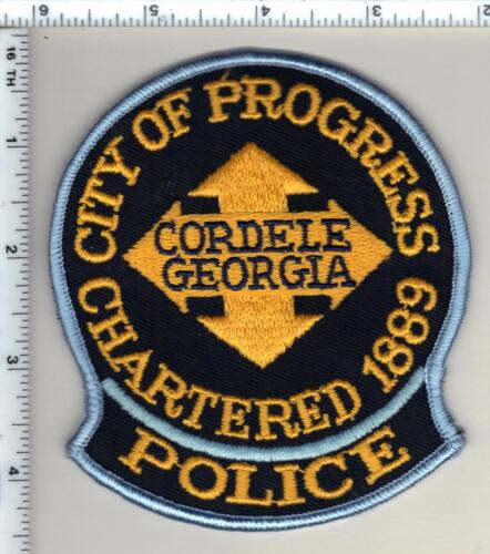 Cordele Police (Georgia)  Shoulder Patch - new from 1990