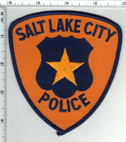 Salt Lake City Police (Utah) Shoulder Patch from the 1980