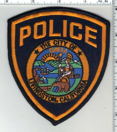 Livingston Police (California) 3rd Issue Shoulder Patch