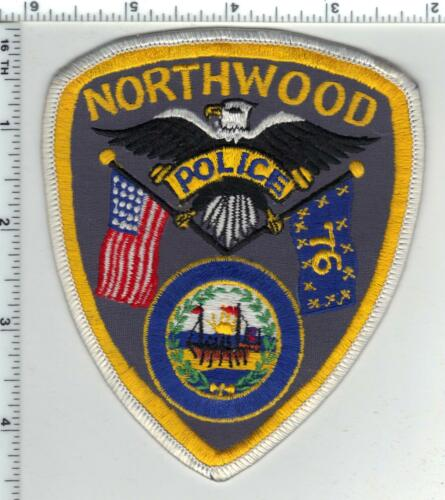 Northwood Police (New Hampshire) Shoulder Patch  new from the 1980