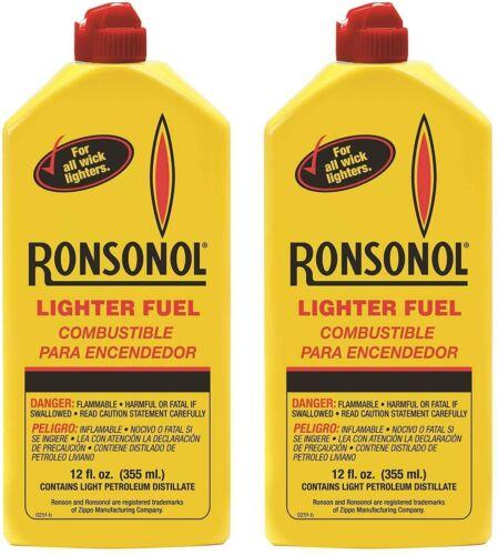 Ronson Lighter Fuel Fluid 12 fl.oz 2 Can Value Pack