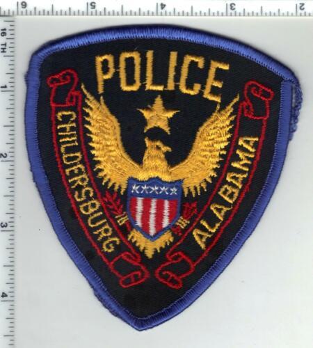 Childersburg Police (Alabama) 1st Issue Uniform Take-Off Shoulder Patch