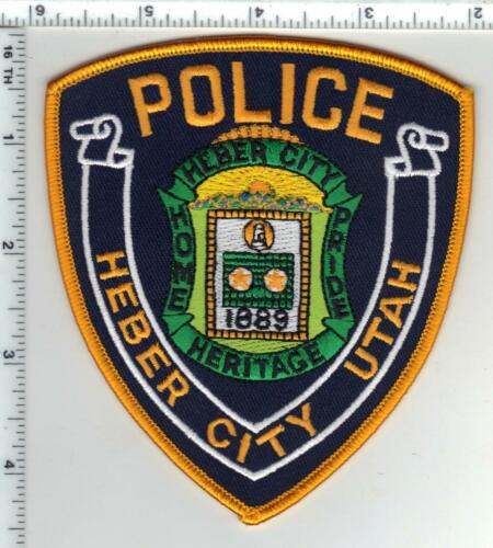 Heber City Police (Utah) Shoulder Patch- in use until 2014
