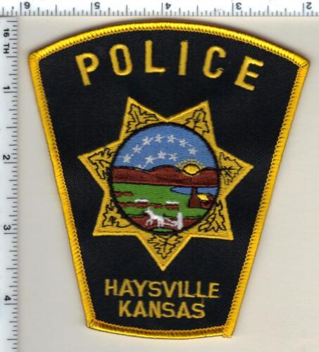 Haysville Police (Kansas) Shoulder Patch - new from 1990