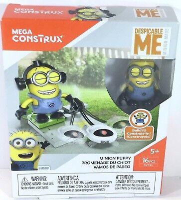 Despicable Me Minion Mega Construx Set Minion Puppy 16 Pc Set New in Box](Despicable Me Puppy)