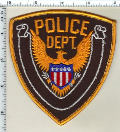 Goodman Police (Missouri)  Shoulder Patch  from 1991