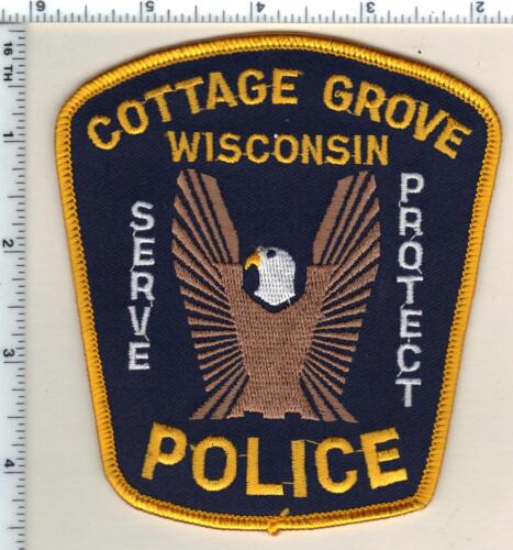 Cottage Grove Police (Wisconsin) 2nd Issue Shoulder Patch from 1990