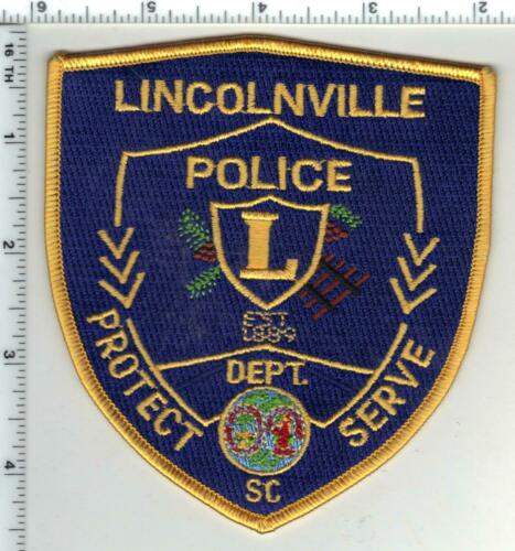 Lincolnville Police (South Carolina) 2nd Issue Shoulder Patch