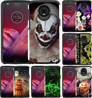 Play Halloween (For Motorola Moto Z3 / Moto Z3 Play Slim Hybrid Case Phone Cover Halloween)