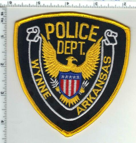 Wynne Police (Arkansas) 1st Issue Shoulder Patch