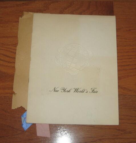Rare 1964-1965 NEW YORK WORLD