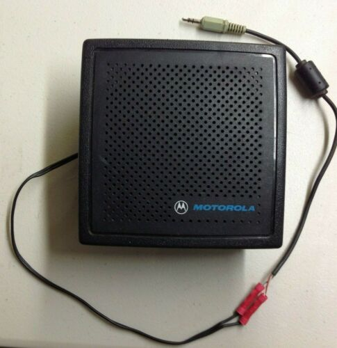 Motorola External Speaker, HSN9326A, without  Mount