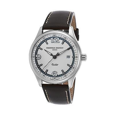 FREDERIQUE CONSTANT MEN'S 40MM GREY STEEL CASE AUTOMATIC WATCH FC-303WGH5B6