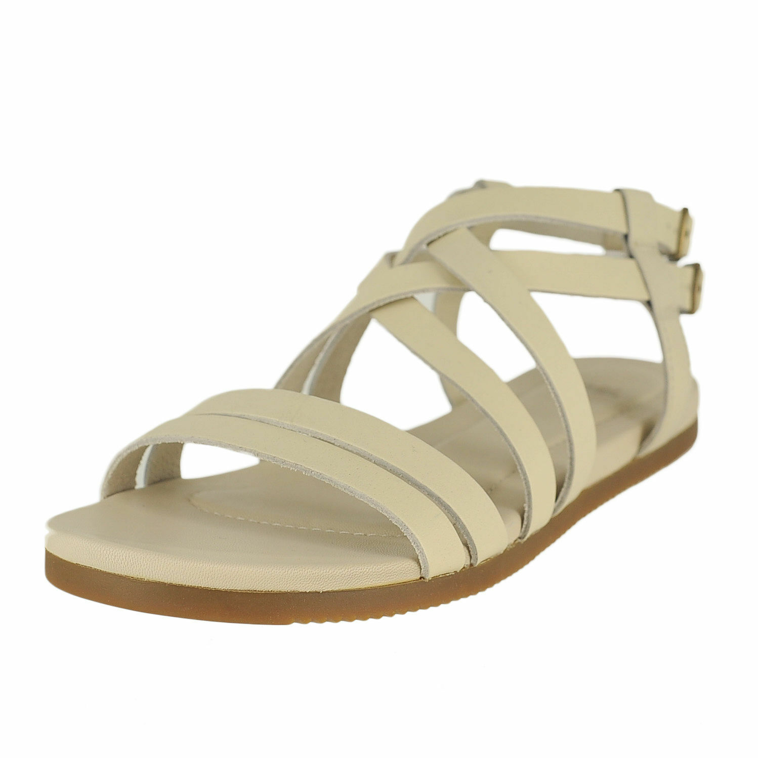 9faa153a5913 Buy Teva Avalina Crossover Leather White Color Womens Sandals Size ...