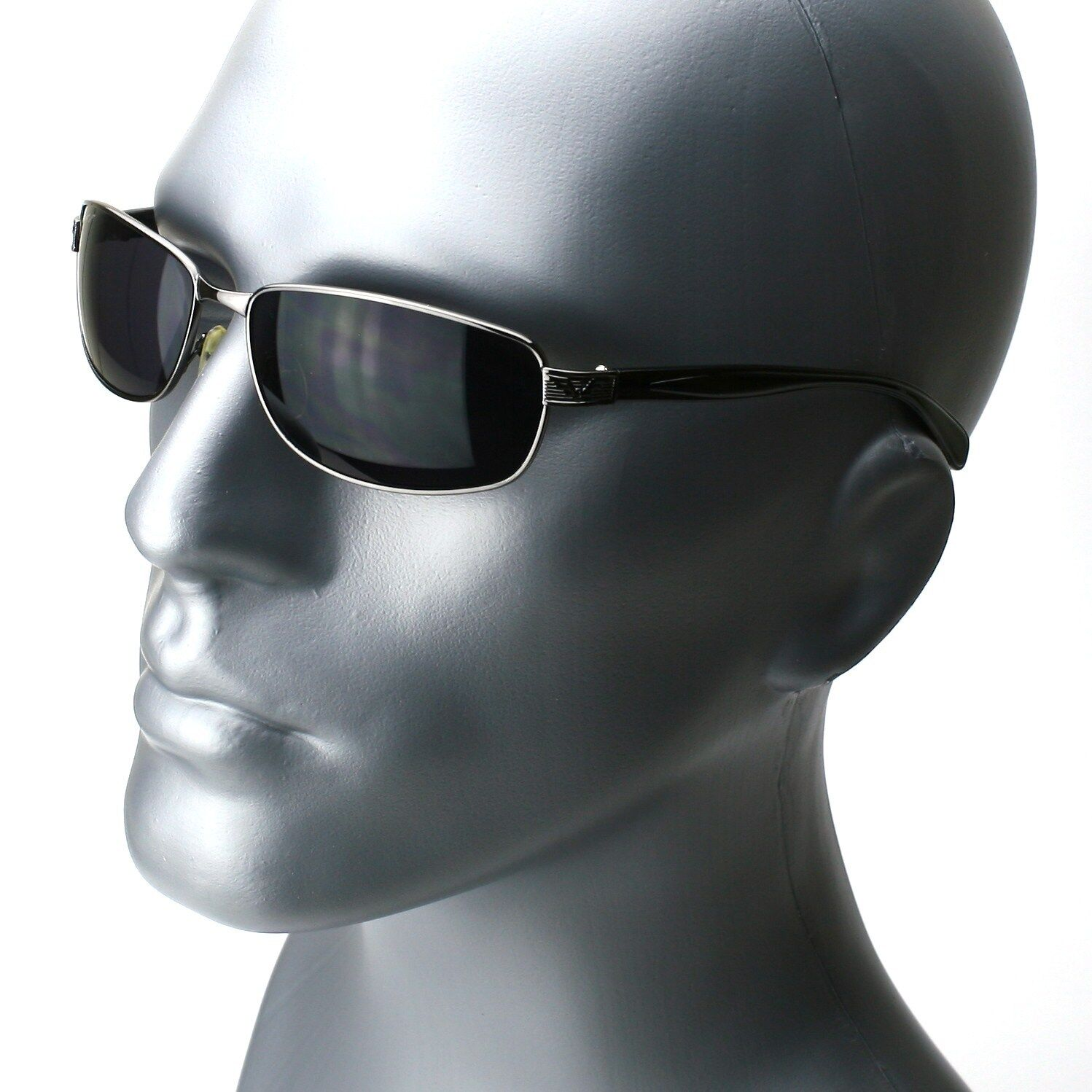 Gunmetal - Black Lens