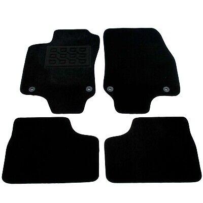 Velours Fußmatten Set für OPEL ASTRA F 91-98 RAND ROT Matten Autoteppiche