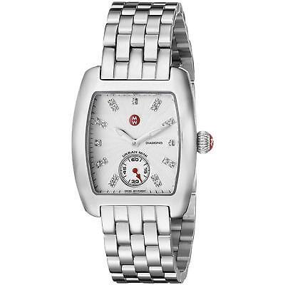 Michele Urban Mini Diamond Dial Steel MWW02A000502 29mm Ladies - Mini Urban Diamond Watch