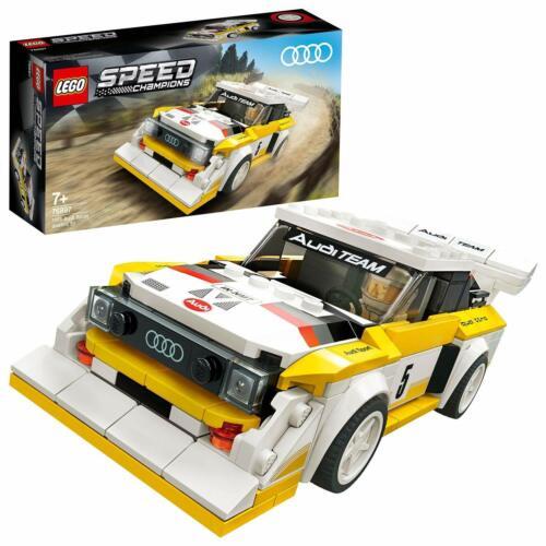LEGO Speed Champions 76897 Audi Sport Quattro S1 1985 Rennwagen Rally Spielzeug