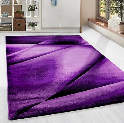 ern abstrakt Lienien Schatten Muster Wohnzimmer Lila Meliert (Lila Muster)