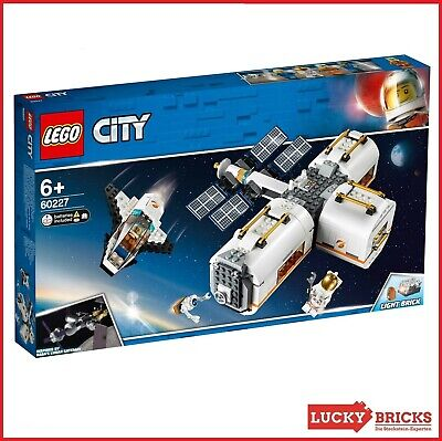 LEGO® City - 60227 Mond Raumstation - NEU & OVP - ISS - Space Station - Shuttle (Spielzeug Space Shuttle)
