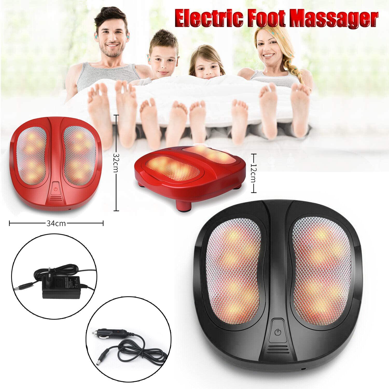 Fußmassagegerät mit Shiatsu Reflexzonen Massage elektrisch Wärmfunktion DE