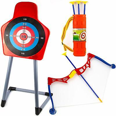 Toysery Kids Archery Bow and Arrow Toy Set for Kids Best Holiday Toys
