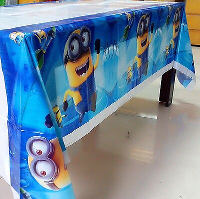 Minions Party Supplies Tablecloth 108*180cm Favor Kids birthday Party Festival  ()