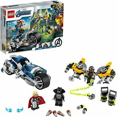 LEGO Avengers 76142 Speeder Bike Attack w/3 Minifigures - NEW Sealed Box