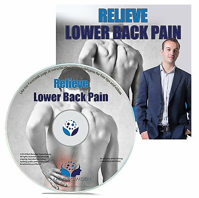 Relieve Lower Back Pain Hypnosis Cd   Free Mp3 Version Natural Treatment Lumbar