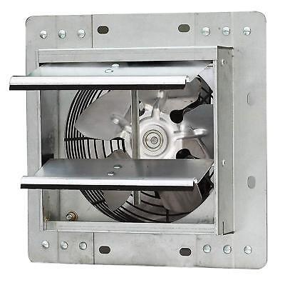 """7"""" Industrial Exhaust Shutter Fan Variable Speed Wall Mount Garage Household Fan"""