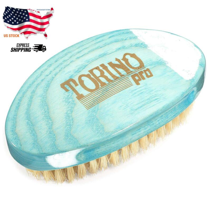 Torino Pro Soft Curved Palm Wave Brush By Brush King #1970-3