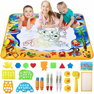 Doodle Mat,Large Water Drawing Mat Aqua Magic Doodle Kids Toy Gift For Boys Girl