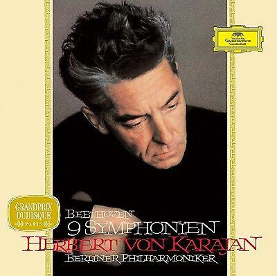 HERBERT VON KARAJAN-BEETHOVEN SINFONIEN (KARAJAN 1963,LTD.VINYL)  VINYL LP NEU