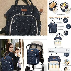 Diaper bag backpack included small one