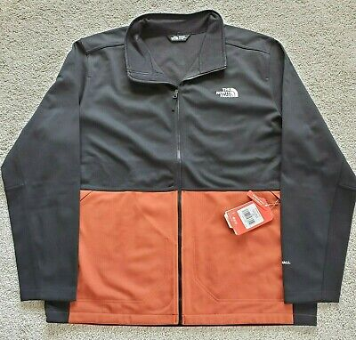 Mens The North Face Apex Canyonwall Softshell Windproof XXL Jacket - Red Picante