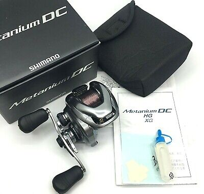 Shimano Metanium DC Right Handed Bait Casting Reel In Box <Near Mint> From JAPAN