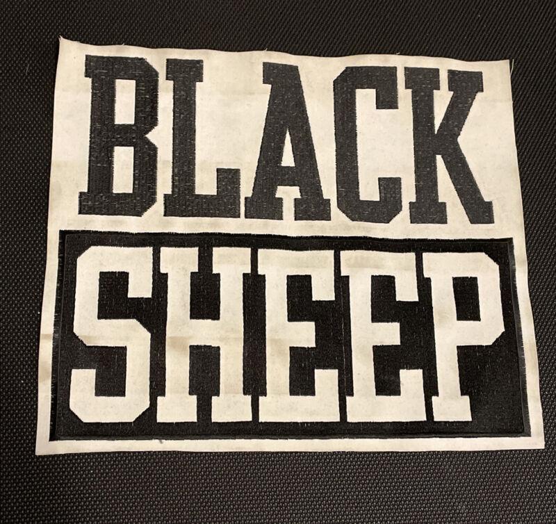VTG Black Sheep Patch Backpatch 90's Rap Hip Hop De La Soul Tribe MF DOOM KMD
